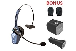a457859acca VXi BlueParrott B250-XTS Headset – Bonus Ear Foams, USB Wall Charger ...