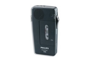 Philips LFH388 Mini Cassette Recorder – Supon Voice