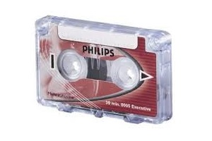 Philips Mini-Cassette-005 Tapes – Supon Voice