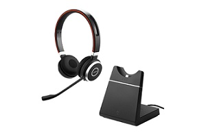 Jabra Evolve 65 With Charging Stand – Supon Voice