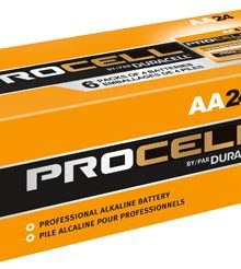 DURACELL PROCELL AA ALKALINE BATTERIES 24 PER BOX - Supon Voice