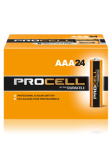 DURACELL PROCELL AAA ALKALINE BATTERIES 24 PER BOX - Supon Voice