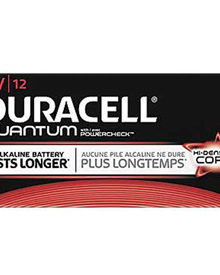 DURACELL QUANTUM 9V ALKALINE BATTERIES 12 PER BOX - Supon Voice