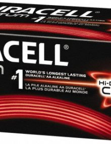 DURACELL QUANTUM AA ALKALINE BATTERIES 24 PER BOX - Supon Voice