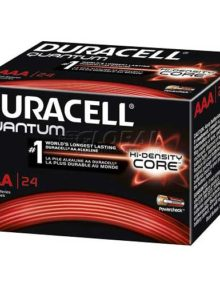 DURACELL QUANTUM AAA ALKALINE BATTERIES 24 PER BOX  - Supon Voice