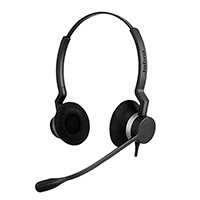 JABRA BIZ 2300 DUO QD HEADSET WITH NOISE-CANCELING MICROPHONE  - Supon Voice