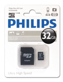 PHILIPS 32GB MICROSD CL-10 CARD - Supon Voice