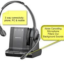 PLANTRONICS SAVI W-710 WIRELESS HEADSET - Supon Voice