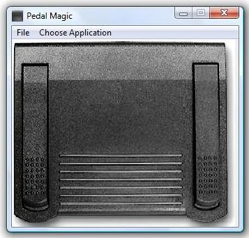 PedalMagic Software for Infinity Foot Pedal