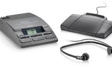 Philips Transcription lfh720 with Philips Foot Pedal