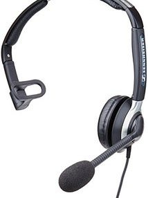 SENNHEISER CC515 MONAURAL HEADSET WITH ULTRA NOISE CANCELING MIC - Supon Voice