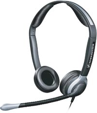 SENNHEISER CC520 BINAURAL HEADSET WITH ULTRA NOISE - Supon Voice
