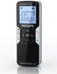 philips 660 voice tracer