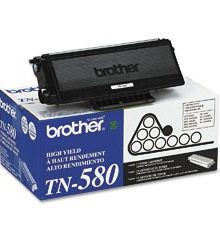 BROTHER TN-580 BLACK LASER TONER CARTRIDGE