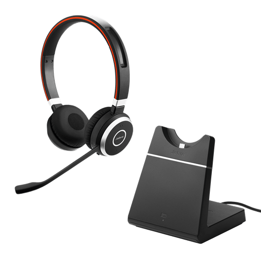 Jabra Evolve 75 Ms Duo Wireless Bluetooth Headset: Jabra EVOLVE 65