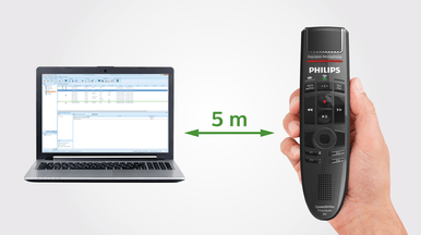 Patented 100% lossless speech technology for smooth wireless voice recording