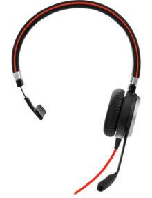 Jabra EVOLVE 40 UC Mono Headset front