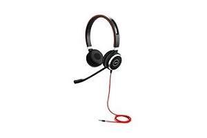 Jabra Evolve 40 Stereo HS 3.5mm Headset - 14401-10 - Supon Voice