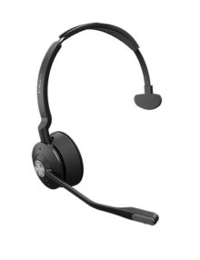 Jabra Engage 75 Mono Headset - Mono - Black - Wireless - Bluetooth DECT Side