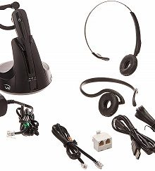 VXI V175 Wireless Headset System for Desk Phone 203994