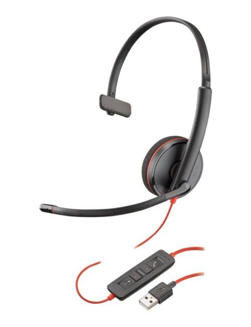 Plantronics Blackwire C3210 USB Headset – Mono – 209744-101