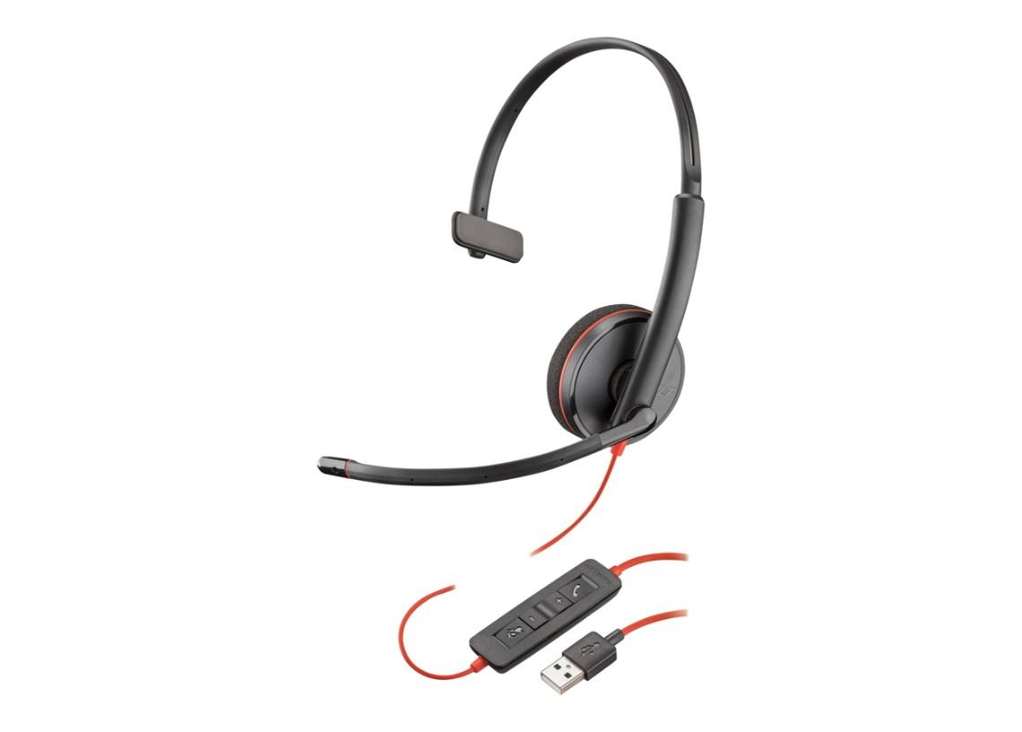 Plantronics Blackwire C3210 USB Headset - Mono - 209744-101