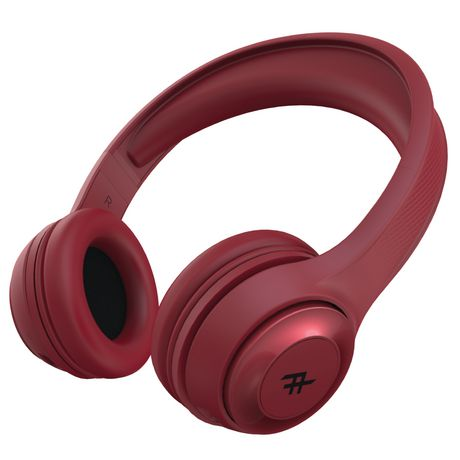 ifrogz toxix red headset Side