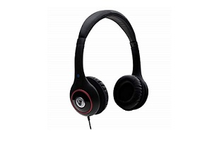 V7 3.5mm Deluxe Stereo Headphones with Volume Control – Supon Voice